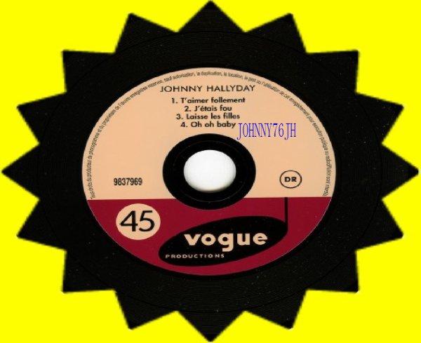 Single T'aimer follement 1960