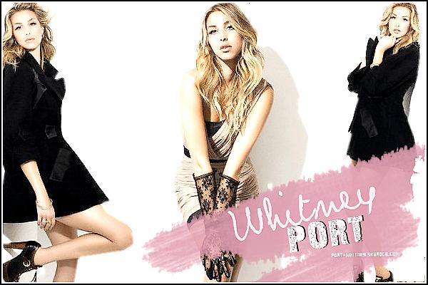 __  » P O R T - W H I T N E Y ~ SKYROCK.COM - Votre source sur notre it girl  préférée !   __