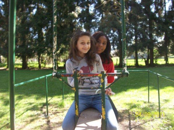 au parc avec rosela