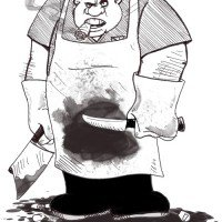 """بشير طرطاق: الجنرال الذي لم تجف يداه من دماء الجزائريين يقود حملة """"الأيادي النظيفة"""" لمكافحة الفساد حسب"""
