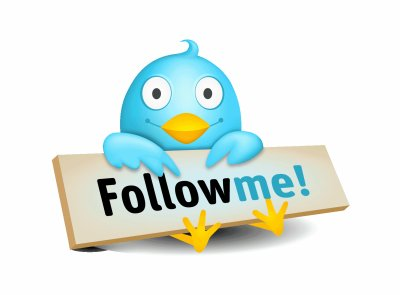 Follow me sur Twitter!