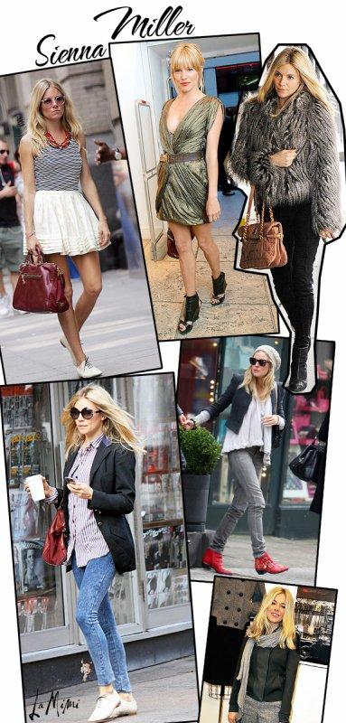 Le style de Sienna Miller