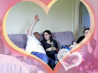 belle soiree avec mon beau frere ma soeur et mon neveu