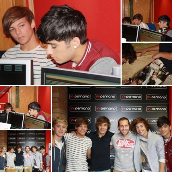 .18 Août 2011 : Les garçons étaient à la Radio Cycle 1 à Glasgow en Ecosse . Vous pouvez retrouver une vidéo où ont les voit avec leurs fans et où ils chantent en acoustique : ici! Sinon qu'est ce qu'ils sont beaux et ça fait plaisir de les voir aussi proches de leurs fans . .