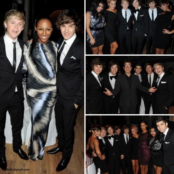 .6 Septembre 2011 :  Les One Direction se sont rendus aux Man Of The Year Awards 2011 organisés par le célèbre magazine GQ. .