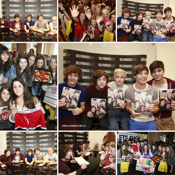 .♦ 17 Septembre 2011 : Les One Direction ont fait une séance de décidasses à Manchester. .