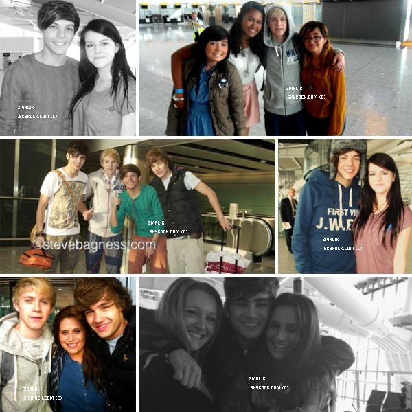 .♦ 24 Septembre : Louis, Harry, Niall, Liam et Zayn étaient à Milkshake City. .