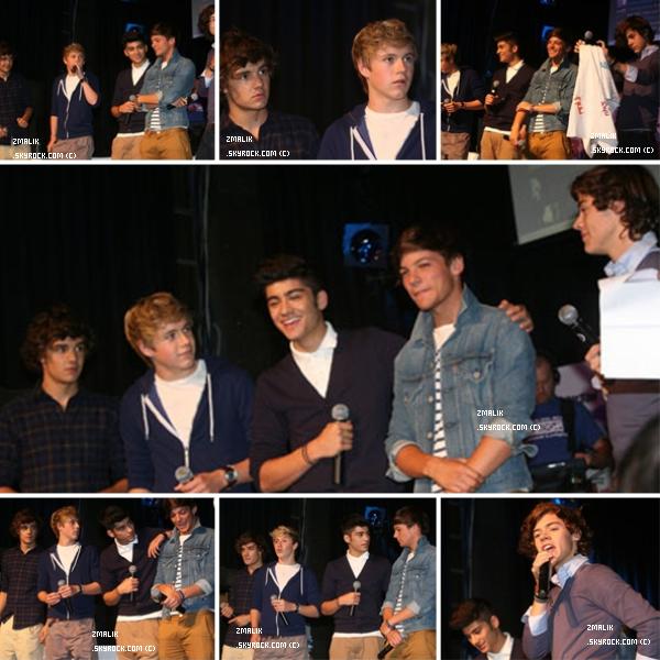 .♦ 4 Octobre 2011 : Les garçons étiaent à Munich en Allemagne pour '' Bring 1D To Me ''. .