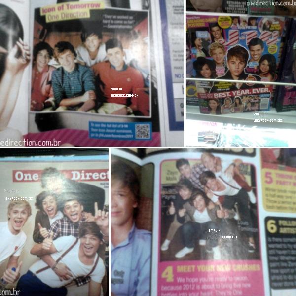 .Zayn a fait lui aussi la couverture du célèbre magazine '' We ♥ Pop '''. Il est magnifique. ♥ .