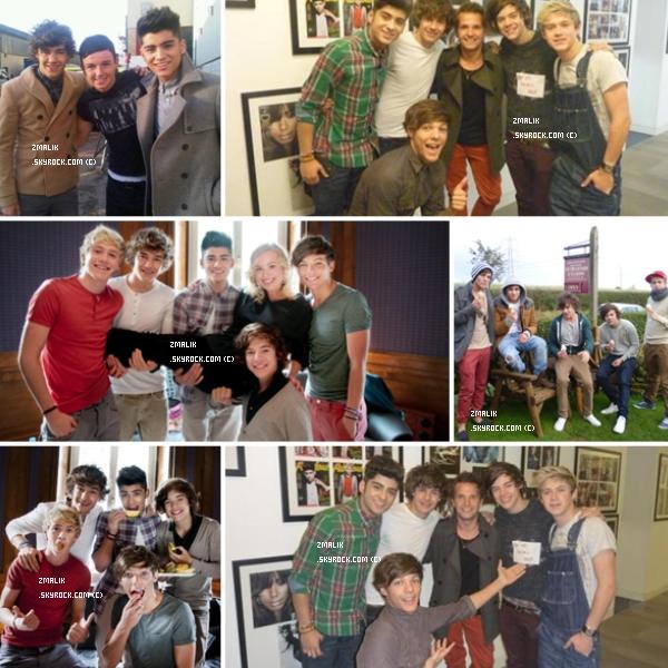 .Louis, Niall, Liam et Zayn ainsi que Harry ont accordés un interview à The Showbiz 411. .
