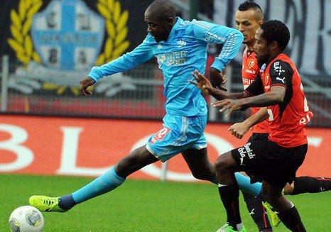Ligue 1 | 12em Journée : Rennes - OM (1-1)