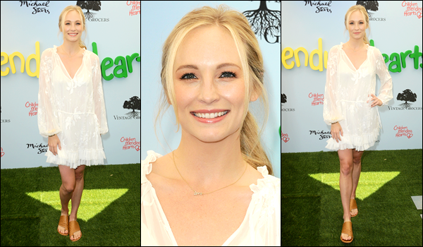 ''• '10/06/18:'' Candice Accola a assistée à l'événement « Children Mending Hearts Gala » situé à Los Angeles ! C'est le sourire aux lèvres que nous retrouvons notre actrice pour cette petite sortie !! J'accorde un top pour sa tenue, quel est ton avis ?!