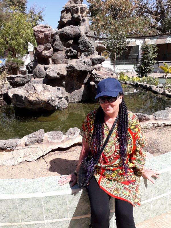 moi au parc zoologique a dakar sénégal (avril 2018)