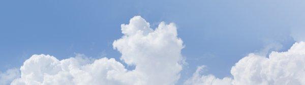 Un petit coin dans le ciel.
