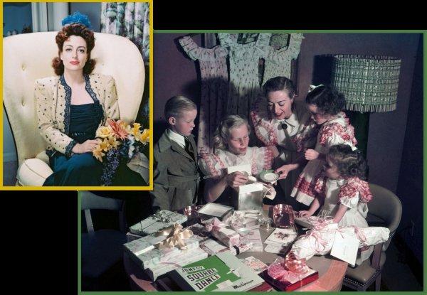 family 10 stars de l gende certes mais galement des mamans on commence par joan crawford. Black Bedroom Furniture Sets. Home Design Ideas