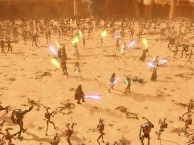 La bataille de Geonosis 1: L'arène