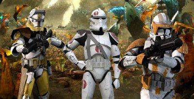 Les protagonistes de la guerre 2: Les commandants clones