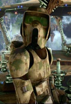 Les protagonistes de la guerre 3 : Les éclaireurs clones