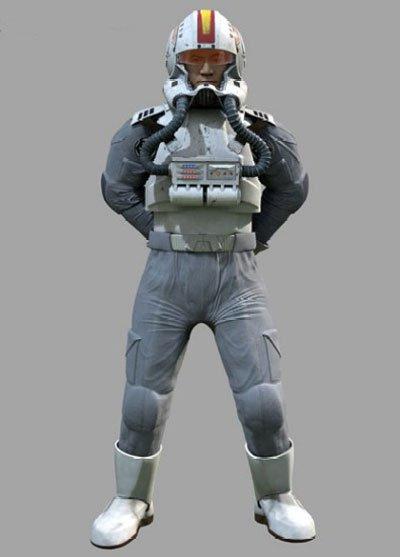 Les protagonistes de la guerre 5 : Les pilotes de chasse clones