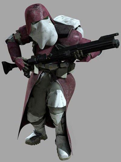 Les protagonistes de la guerre 8 : La marine galactique clone