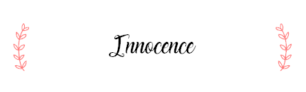 "One-Shot n°105 : ""Innocence"""