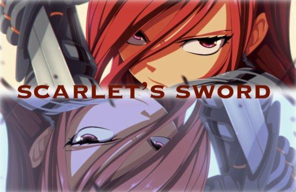 """Fan-fiction n°26 : """"Scarlett's sword"""""""