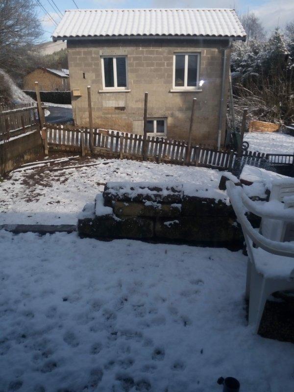 mon jardin ern hiver
