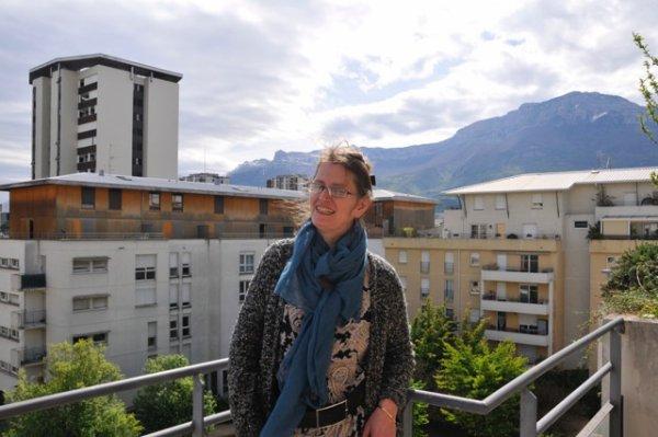 moi à Grenoble pour les 80 ans de mon père