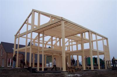 la structure portante ma maison passive c 39 est du bois. Black Bedroom Furniture Sets. Home Design Ideas