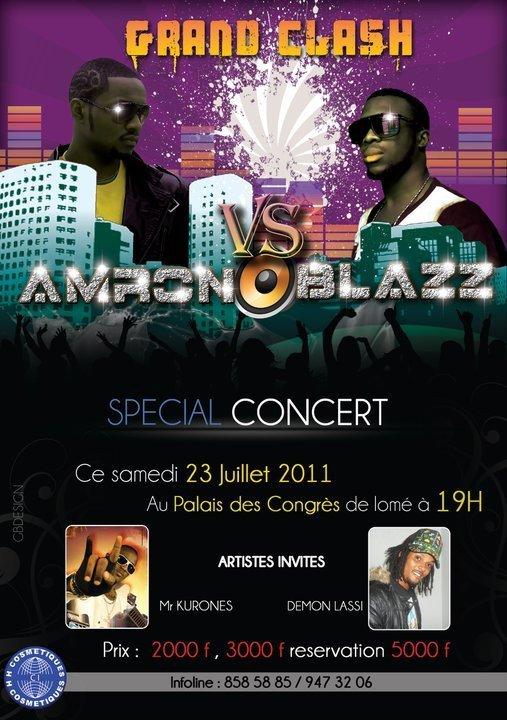 LOmé concert le 23 juillet