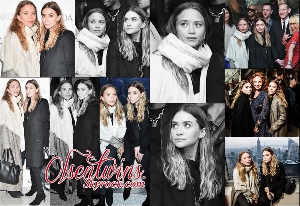16/03/2015 : Mary-Kate & Ashley Olsen ont été aperçu aux CFDA Fashion Awards.Je les trouve vraiment sublime ! et j'aime beaucoup comment quel sont habillée enfin des news et elle nous font un top !