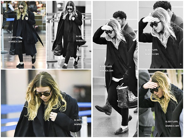 CANDIDS // 06 Avril 2015 : Ashley Olsen à été aperçu dans l'aéroport de LAX à Los Angeles.