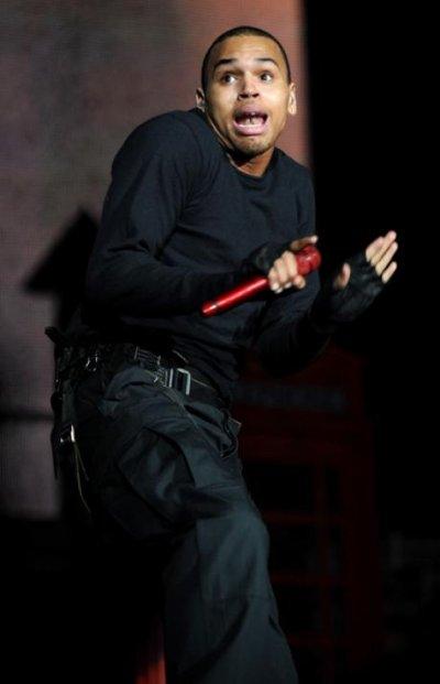 Chris Brown dans tous ses états ! xD