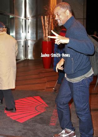CANDIDS : Jaden et Will à NYC.