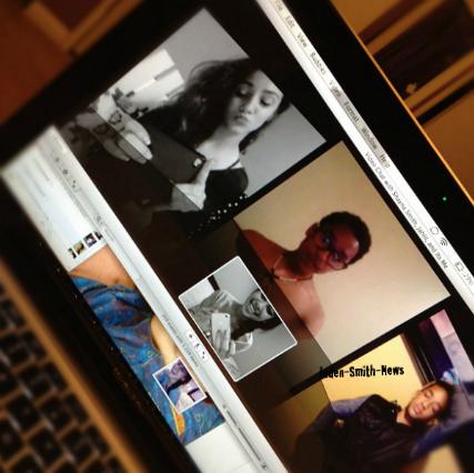 Jaden : iChat avec ses cousins Jahlil, Sydney et Shayla