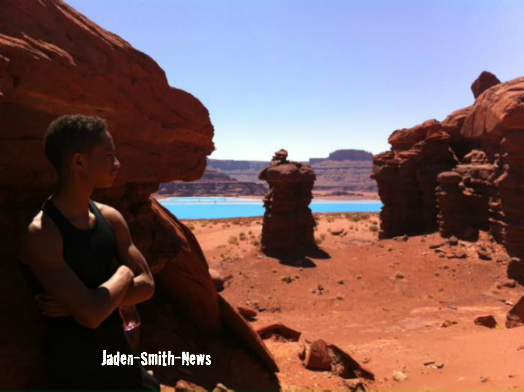 Nouvelle Photo Postée, sur le tournage d' After Earth.