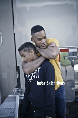 Jaden reprend le tournage + photos.