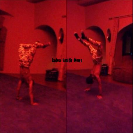 Jaden nous montre ses talents de Gymnaste :)