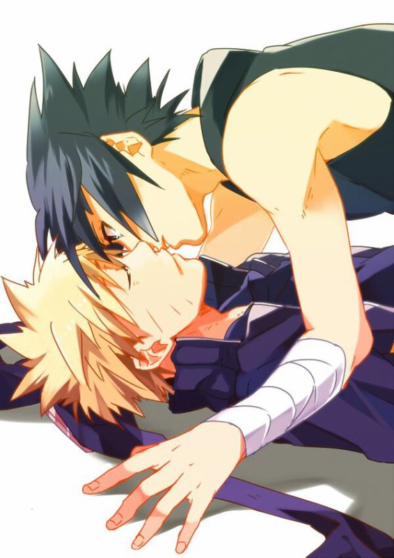 SasuNaru: quel adorable petit couple
