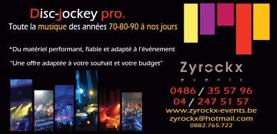 New Carte De Visite Zyrockx Events Liens Vers Forum Mariage Dcoration
