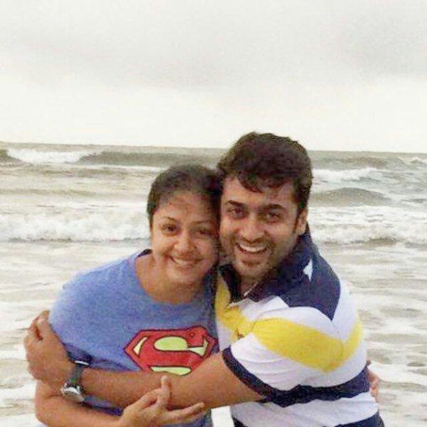 Surya Jyothika - Rare/Unseen pic! - Dev & Diya - kutty ...