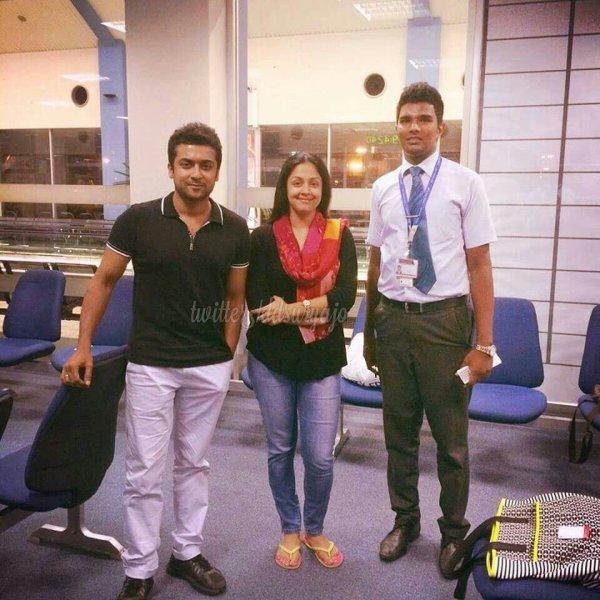 Suriya Jyothika recent click - Rare/Unseen - Dev & Diya ...