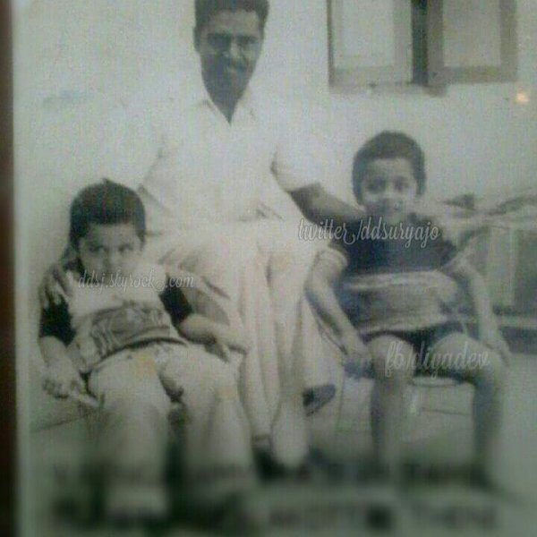 Suriya and Karthi - Rare/Unseen childhood pic