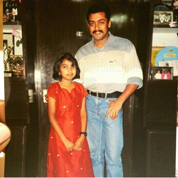 Surya with fan during Kaakha Kaakha - Rare/Unseen