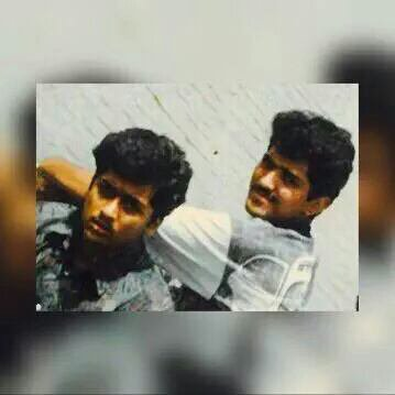 Surya's youthhood days with his friend RajsekarPandian - Rare/Unseen