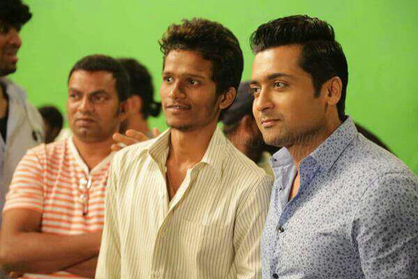 Surya's new look for Intex mobile ad shoot! - Rare/Unseen pics