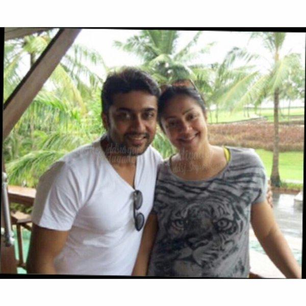 Surya Jyothika - Latest Rare/Unseen Pics - Dev & Diya ...