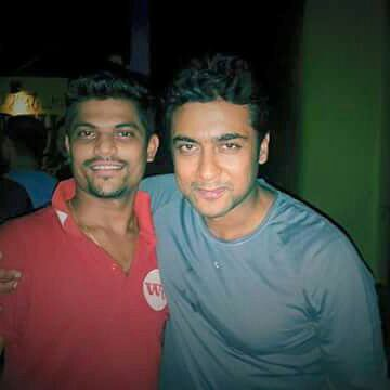 Surya with fans - Rare/Unseen pics