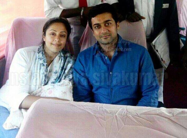 Suriya Jyothika celebrated their 9th wedding anniversary at Mysore - Rare/Unseen pics