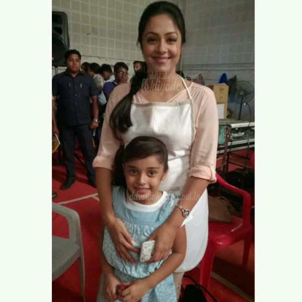 Recent Pics of Jyothika with fans - Rare/Unseen